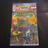 Hybrids #3 - Continuity Comics - Deathwatch 2000 pt. 19 Crossover - Bagged with Card