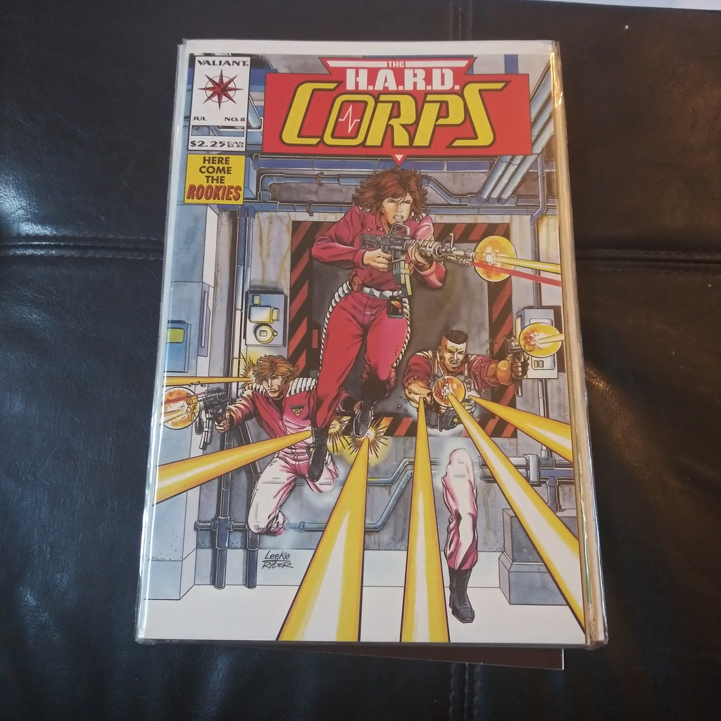 The H.A.R.D. Corps #8 - Valiant Comics - The Rookies