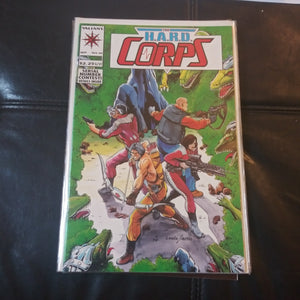 The H.A.R.D. Corps #10 - Valiant Comics - Featuring Turok