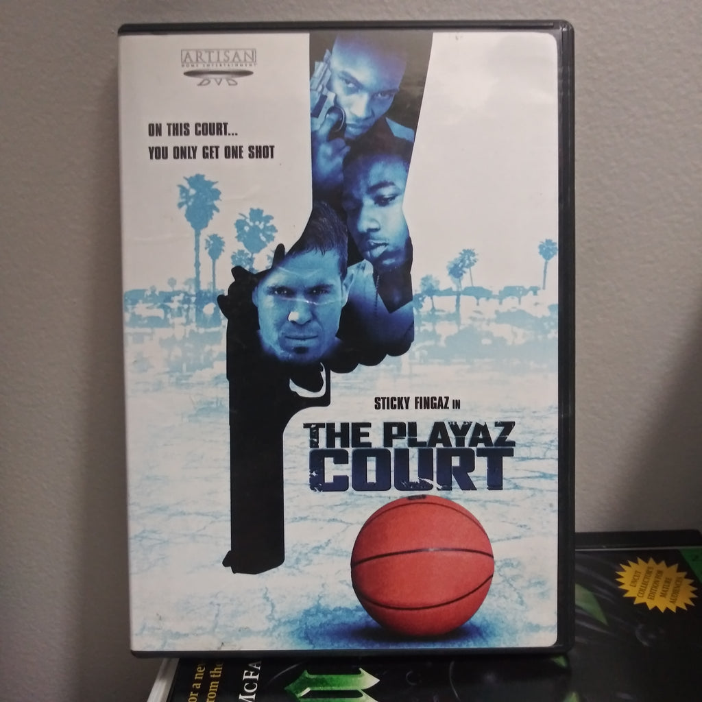The Playaz Court - Artisan DVD - Sticky Fingaz - with Insert Booklet