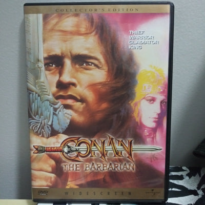 Conan The Barbarian Widescreen Collectors DVD with Insert Booklet Schwarzenegger