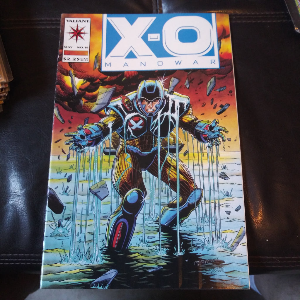 X-O Manowar #16 - Valiant Comics