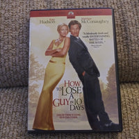 How To Lose A Guy In 10 Days Full Screen DVD - Kate Hudson