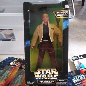 "Star Wars 12"" Sealed Luke Skywalker In Ceremonial Gear Figure"