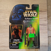 1996 Star Wars POTF Green Ponda Baba with Blaster & Pistol Sealed Figure