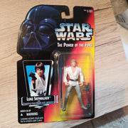 1995 Star Wars POTF Red Luke Skywalker with Lightsaber & Hook Sealed Figure