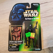 1996 Star Wars POTF Death Star Gunner with Blaster Holo Card