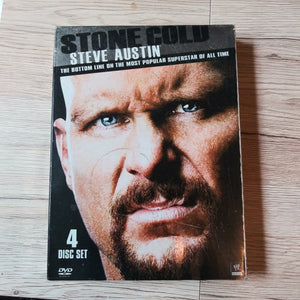 WWE Wrestling DVD Stone Cold Steve Austin The Bottom Line - 4 Disc Set