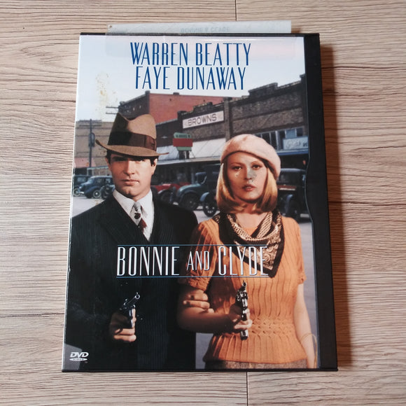 Bonnie And Clyde Snapcase DVD - Warren Beatty - Faye Dunaway