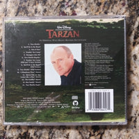 Walt Disney Tarzan Movie Soundtrack w/Booklet Poster - Phil Collins - Music CD
