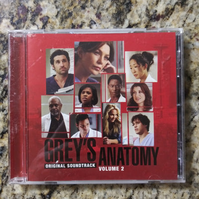 Grey's Anatomy Original Soundtrack Volume 2 - The Fray etc - Music CD