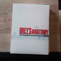 Grey's Anatomy Complete Second Season Uncut - 7 Discs