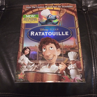 Walt Disney Pixar Ratatouille with Slipcover and Inserts