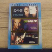 Nicolas Cage Triple Feature DVD - Face/Off - Snake Eyes - Bringing Out The Dead