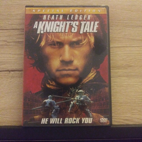 A Knight's Tale Special Edition DVD - Heath Ledger