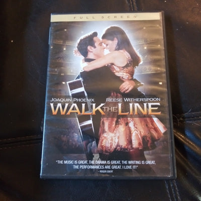Walk The Line Full Screen DVD - Joaquin Phoenix - Reese Witherspoon - Johnny Cash