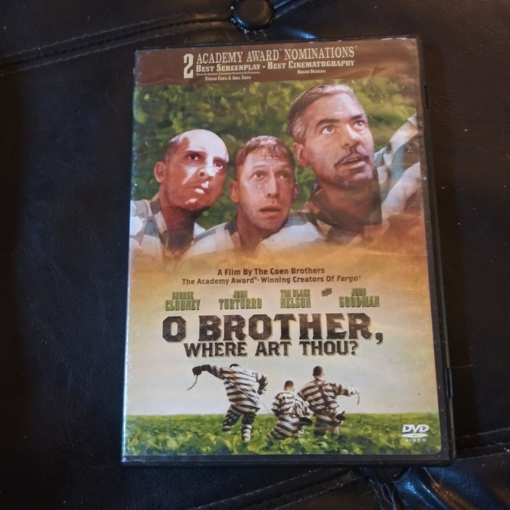 O Brother, Where Art Thou? DVD - George Clooney - John Turturro - John Goodman
