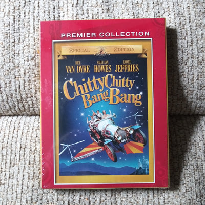 Chitty Chitty Bang Bang Premier Collection SEALED NEW DVD with 34 pg Storybook