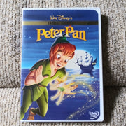 Walt Disney Peter Pan Special Edition DVD with Inserts