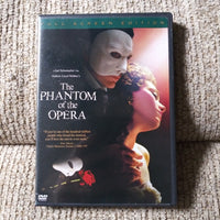 The Phantom Of The Opera Full Screen DVD