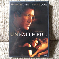 Unfaithful Widescreen DVD with Chapter Insert - Richard Gere - Diane Lane