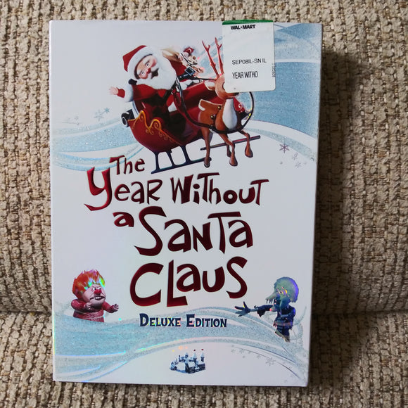 A Year Without Santa Claus Deluxe Edition DVD with Slipcover