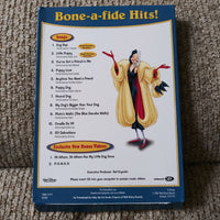 Walt Disney 101 Dalmations Bone-A-Fide Hits 11 Songs & 2 Videos Walmart Exclusive