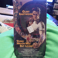 Every Which Way But Loose VHS Tape - Clint Eastwood