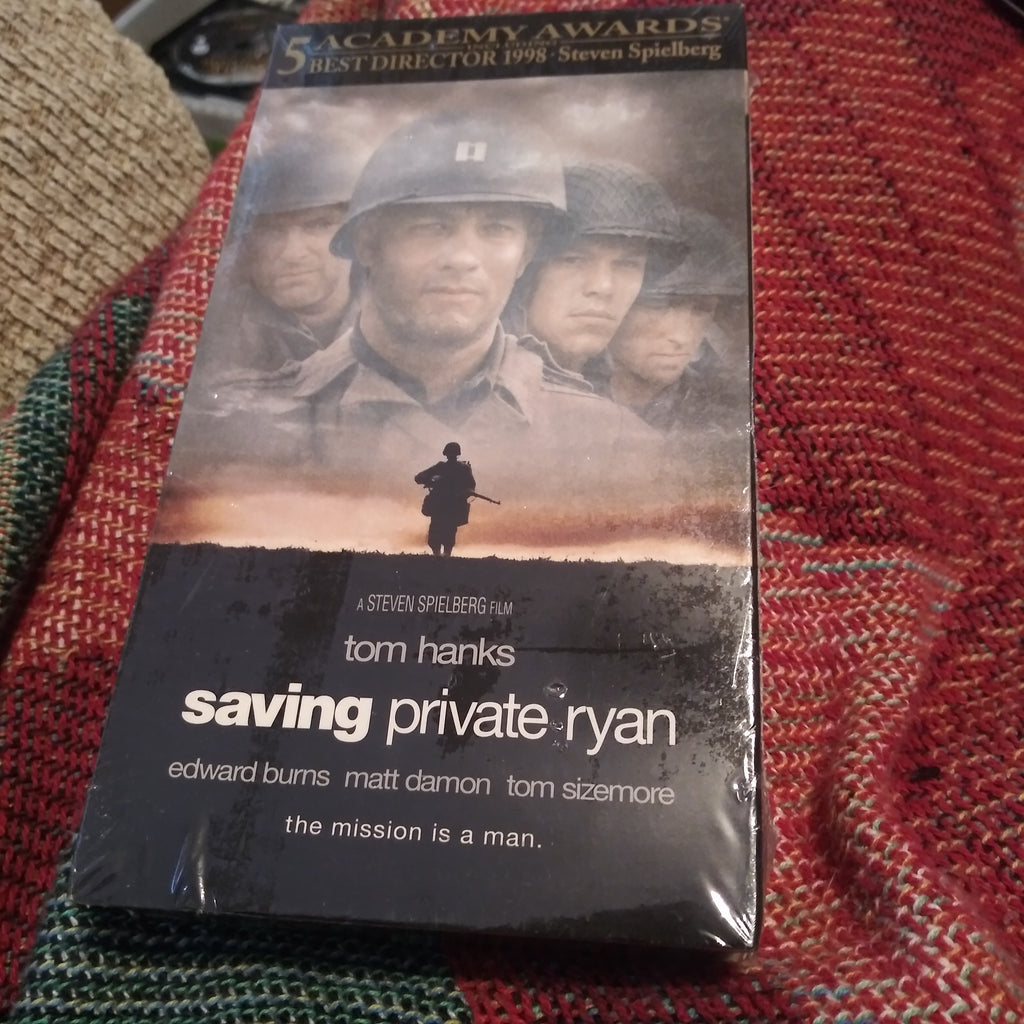 Saving Private Ryan VHS Tape - NEW SEALED - Tom Hanks - Matt Damon