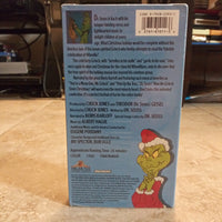 Dr. Seuss' How The Grinch Stole Christmas VHS Tape - Narrated By Boris Karloff