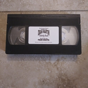 Dean Martin Celebrity Roasts  VHS Tape - Frank Sinatra (Generic Cover)