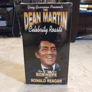 Dean Martin Celebrity Roasts  VHS Tape - Bob Hope & Ronald Reagan