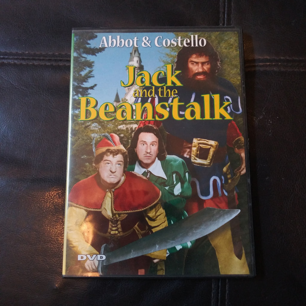 Jack and the Beanstalk Digiview DVD - Bud Abbott & Lou Costello