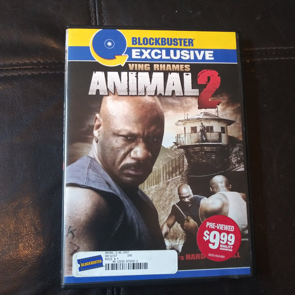 Animal 2 - Blockbuster Exclusive DVD - Ving Rhames