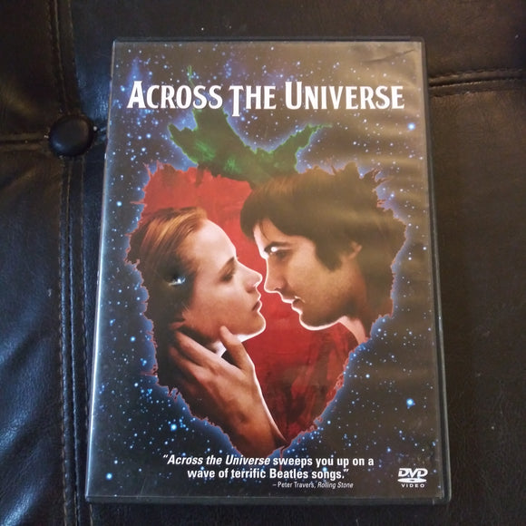 Across The Universe DVD - Evan Rachel Wood - Beatles Songs