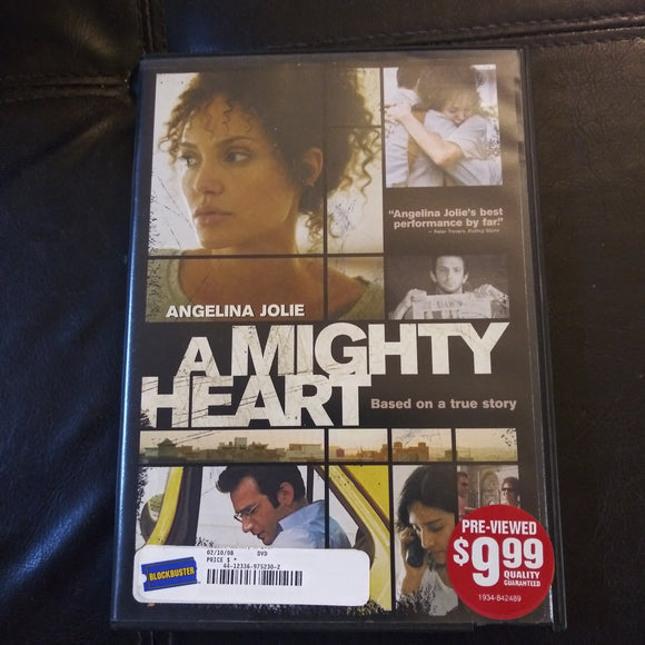 A Mighty Heart DVD - Angelina Jolie