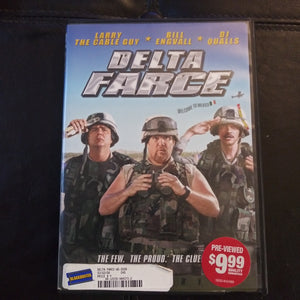 Delta Farce DVD - Larry The Cable Guy - Bill Engvall - DJ Qualls