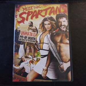 Meet The Spartans - Unrated Pit of Death Edition DVD