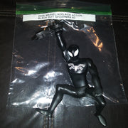 2009 Marvel Adelaide Black Suit Spiderman Action Figure