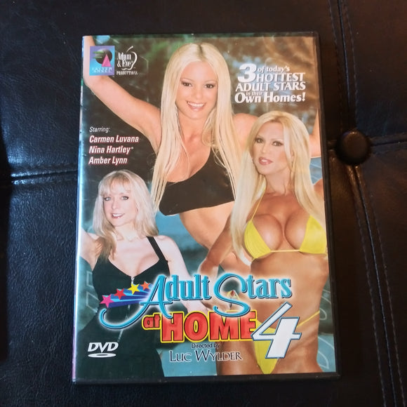 Adam & Eve Production DVD: Adult Stars At Home 4 - Nina Hartley - Amber Lynn - Carmen Luvana