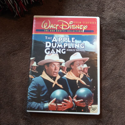 Walt Disney The Apple Dumpling Gang Rides Again DVD - Don Knotts Collection Cover