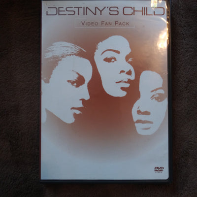 Destiny's Child Video Fan Pack DVD - Beyonce  - Kelly Rowland - Michelle Williams