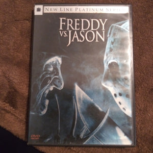 Freddy vs. Jason New Line Platinum Series Horror 2 Disc DVD with Insert Booklet