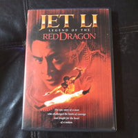 Legend of the Red Dragon DVD - Jet Li - with Chapter Insert