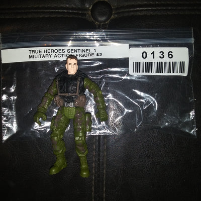 True Heroes Sentinel 1 Military Action Figure