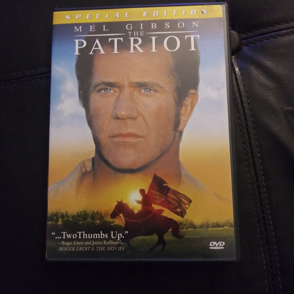 The Patriot Special Edition DVD - Mel Gibson - with Insert