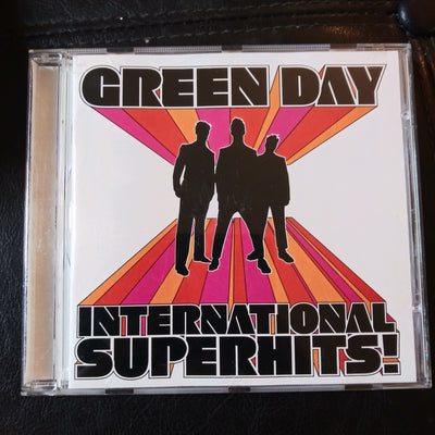 Green Day International Superhits! Music CD  - 9 48145-2 Reprise Punk 2001