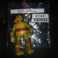 "2012 Viacom TMNT Teenage Mutant Ninja Turtles Michaelangelo 4.75"" Figure"