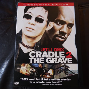 Cradle 2 The Grave Widescreen Snapcase DVD - Jet Li - DMX