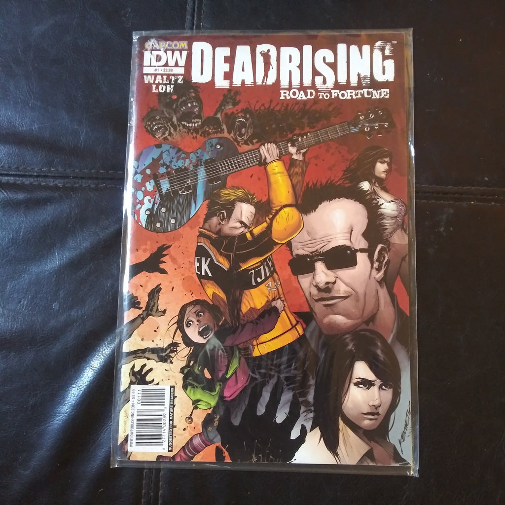 IDW Capcom Deadrising Road To Fortune #1 Zombies Horror Comic